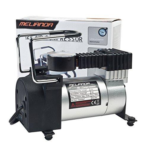 MELIANDA MA-8500 12V Auto Kompressor für den Zigarettenanzünder, mit 85W Leistung bis zu 10Bar, 30L/min - 4