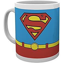 GB eye LTD, DC Comics, Superman Costume, Taza de ceramica