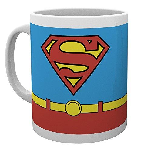 DC Comics Superman Kostüm Tasse, Holz, (Superman Dc Online Kostüm Universe)
