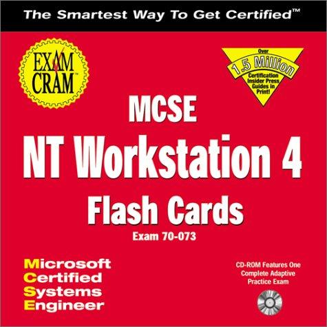 MCSE NT Workstation 4 Exam Cram: Flash Cards: Study Anywhere for the MCSE NT Workstation Exam por Ed Tittel