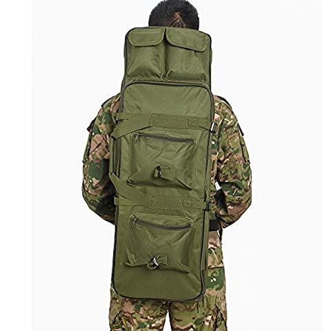 Airsson Tactical Rifle Gun Case Cover Weich Double Gewehr Bag