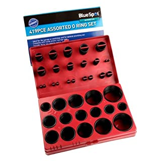 Blue Spot 40074 Assorted O-Ring Set (419 Pieces)