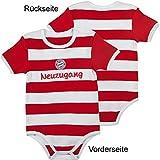 FC Bayern München Baby Body Neuzugang Gr.68