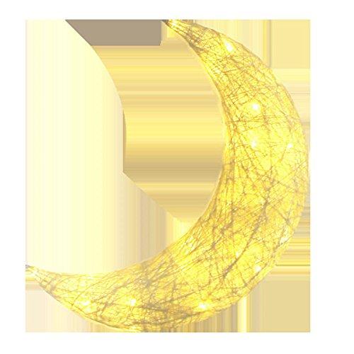 leuchte Kinderzimmer Schlafzimmer Dekorieren Modellierung Kleine Nachtlicht Kreative Mond Wandleuchte Dress Up Requisiten ()