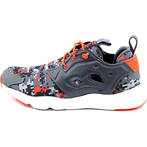 Reebok Furylite Graphic Femmes Toile Chaussure de Course Alloy-Red-Coal-Gry