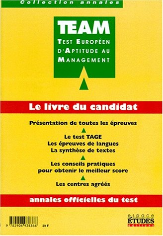 Team Test européen d'aptitude au management, 1998