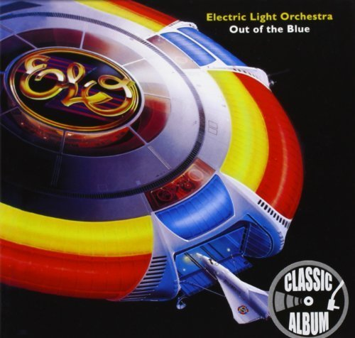 Out of the Blue: Deluxe Hard-Back Sleeve by Electric Light Orchestra Blue Hardback