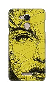 ZAPCASE Printed Back Cover for Coolpad Note 5