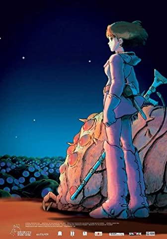 Nausicaä of the Valley of the Winds Plakat Movie Poster (27 x 40 Inches - 69cm x 102cm) (2005) (2005 Plakat)