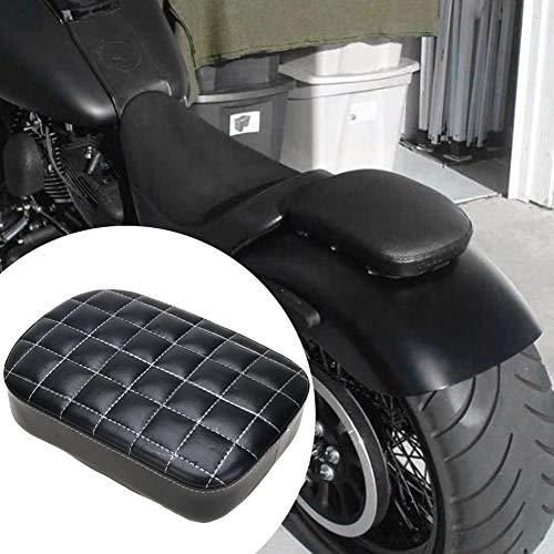 Preisvergleich Produktbild Motorradsitz Notsitz Sitz Sozius Pad Sitzpad Sitzkissen Passenger Seat Motorradsitz mit 6 oder 8 Saugnapf für Harley XL883 1200 X 48 72