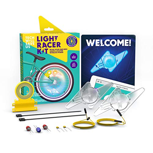 Technology Will Save Us Tech Will Save Us Light Racer Kit Educational STEM Toy Ages 8 & Up -