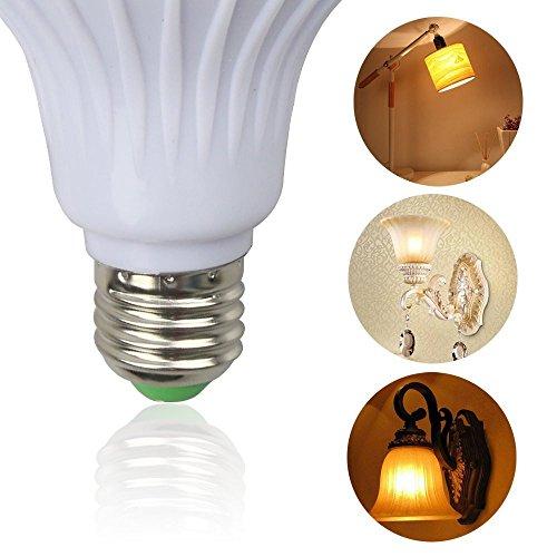 12 Watt Äquivalent 115 Watt Halogenlampe RGB-Glühbirne LED-Lampe Musik-Player mit Fernbedienung E27 / E26 Mittlerer Standard Basis-LED-Licht Smart Wireless Bluetooth Audio Glühbirne e27 - E26 Standard Schraube Basis