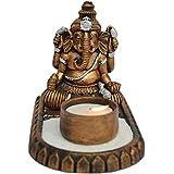 IndianShelf Ganesha Tealight Candle Holder Home Christmas Diwali Decoration Handmade