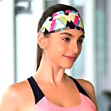 #3: Di Grazia Yoga Headbands for Women - Wide Non Slip Design for Running Workout and Fitness