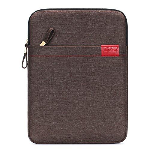"DOMISO 8 Zoll Tablet hülse Wasserdicht Sleeve Case Etui Tasche Schutztasche für 7.9"" iPad Mini 4/8\"" Samsung Galaxy Tab S2 / 8\"" Lenovo Tab 4 Plus Lenovo Tab3 (Braun)"