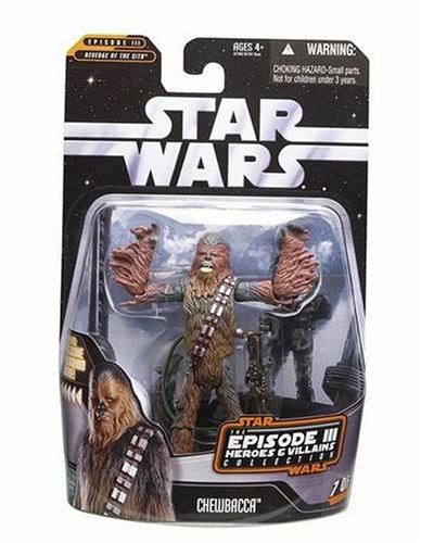 Star Wars Saga Collection Helden und Villians Chewbacca Action Figur