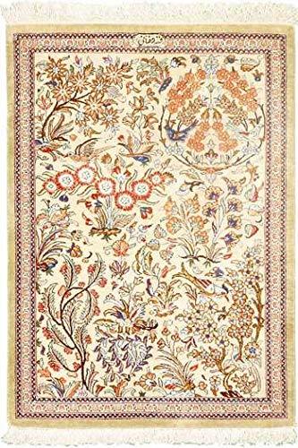 Il tappeto kum o qum famoso splendido tappeto persiano ...