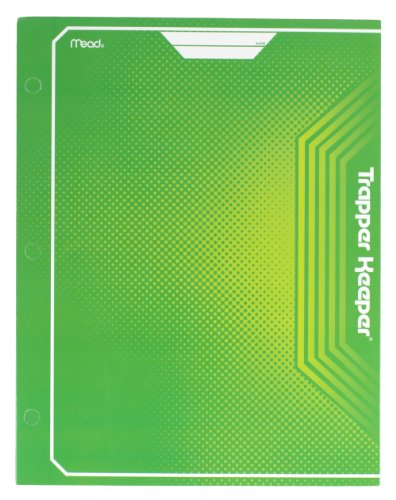 mead-trapper-keeper-2-pocket-portfolio-12-x-938-x-12-inches-green-72648