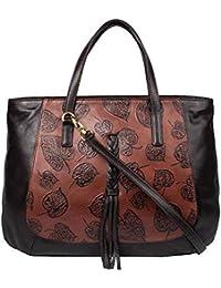 Hidesign Women's Handbag (Tan BRN)