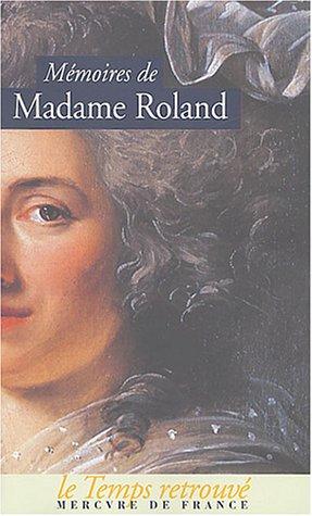 Mémoires par Madame Roland