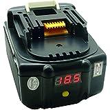 Waitley 18V 4.0Ah/4000mAh Reemplazo Batería de litio de para Makita BL1830 BL1830USB BL1840 BL1850 BL1860 194205-3 LXT-400 con la exhibición del voltaje Añada la función del banco de la energía