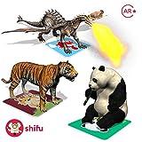 #6: Shifu Safari Augmented Reality Learning Games - iOS & Android (60 Animal Cards)