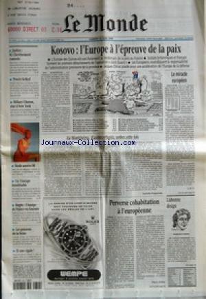 MONDE (LE) [No 16913] du 12/06/1999 - JUSTICE - M....