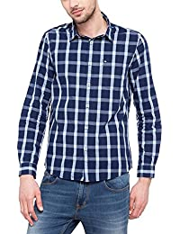 Lee Cooper Men's Checkered Regular Fit Casual Shirt