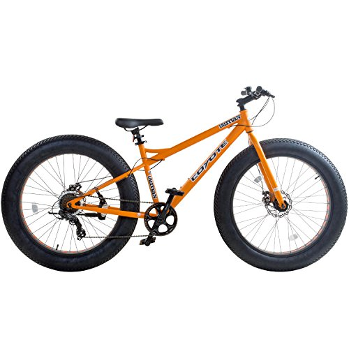 26 Zoll Coyote Fatman 4.0' FAT TYRE Fatbike, Farbe:orange