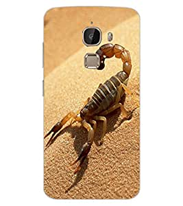 ColourCraft Scorpio Design Back Case Cover for LeEco Le 2 Pro
