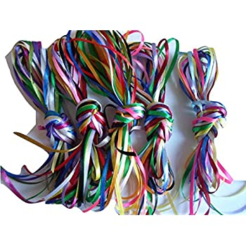 "10 x 1m x 3mm 1//8/"" Sheer Organza Ribbon Assorted bundle colours 10 metres..."
