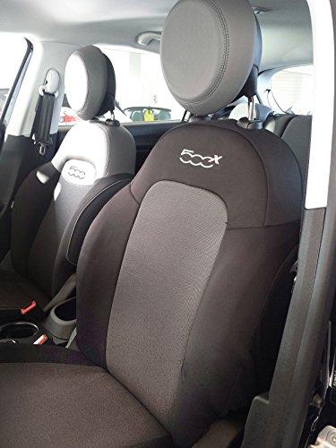 autoSHOP Fodera Set COPRISEDILE su' Misura Completa per Auto dal 2014 con SPALLIERA Posteriore Divisa Set Completo 4/5PGT in Dotazione No BRACCIOLI Ant +PST