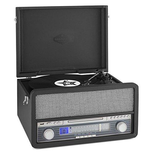 auna-epoque-1907-plattenspieler-retro-stereoanlage-mit-vinyl-to-mp3-funktion-zum-digitalisieren-blue