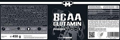 Mammut BCAA Glutamin Powder, Grapefruit, 1er Pack (1 x 450 g) - 4