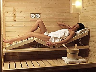 Karibu Sauna Wellnessliege Gr. 1 von Woodfeeling GmbH - Du und dein Garten