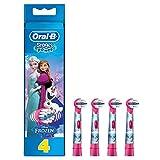 Oral-B Stages Power 4 Testine di Ricambio per Spazzolino Elettrico con i Personaggi di Frozen - Il...
