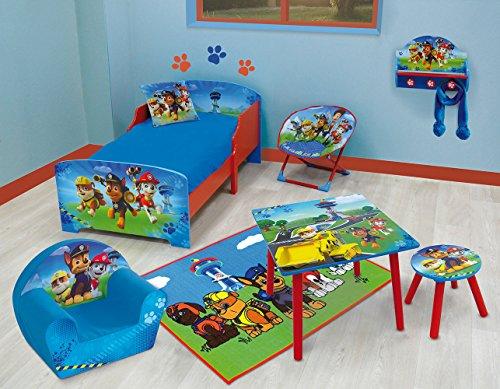Achat FUN HOUSE 712532 Pat Patrouille Lit d'enfant avec Lattes Bois MDF Bleu 140 x 70 x 59 cm