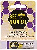 BEE Natural Lippenpflege-Stift Acai Beere 4.25 g Stifte