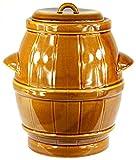 Tontopf Steinguttopf Rumtopf Schmalztopf Steingut Honig 5 Liter