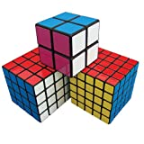 5x5x5, 4x4x4 and 2x2x2 Cube Set from PUZL
