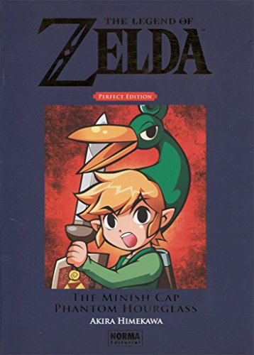The Legend of Zelda Perfect Edition: The Minish Cap y Phantom Hourglass por Akira Himekawa