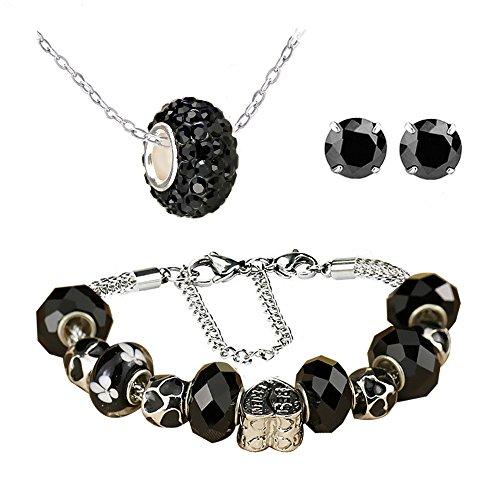vente au royaume uni profitez de la livraison gratuite mode White Birch Parure de bijoux pour femme Argent et Eléments ...