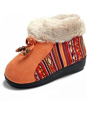 [Sponsorizzato]Polliwoo Stivali all'aperto Scarpe per Bambine e Ragazze Bootie