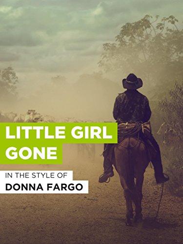 Little Girl Gone im Stil von