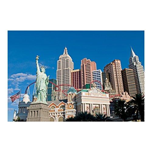 Vliestapete Viva Las Vegas Premium, Größe: 225cm x 336cm