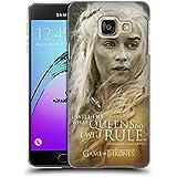 Officiel HBO Game Of Thrones Daenerys Targaryen Portraits De Personnage Étui Coque D'Arrière Rigide Pour Samsung Galaxy A3 (2016)
