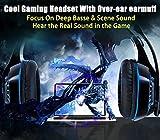 Cascos para Xbox One PS4, Beexcellent Auriculares Gaming Bajo Envolvente Estéreo con Micrófono Perfect Graba Tu Voz 3.5mm Puerto Compatible IPad Laptops y Otros Equipos