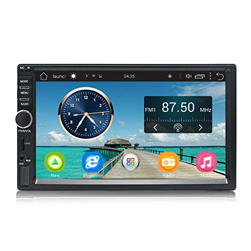 KKXXX S1 Plus Android Car Stereo 2GB RAM 32GB ROM GPS Navigation Auto Radio 7 Inch 2 Din Head Unit Hands-free Calls Support Camera DVR Input - Unit Head Radio
