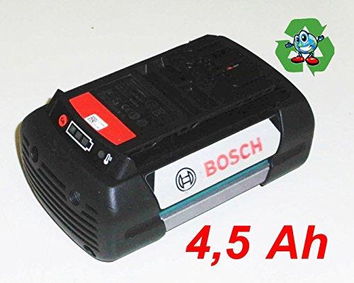 Preisvergleich Produktbild Bosch Akku 36V Rotak 32-43 ALB AKS AHS . -Garten Neubestückt mit 4,5 Ah