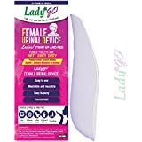 LadyGo - Reusable Female Urinal Device(FUD) - Stand-up and pee - Lavender (Pack Of 1)